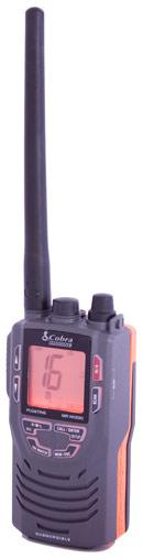 Cobra HH330 floating handheld vhf radio