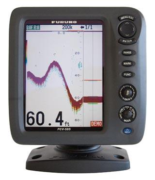 furuno fcv585 fish finder sounder