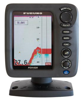 furuno fcv620 fish finder sounder