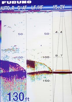 furuno fcv627 fish finder sounder