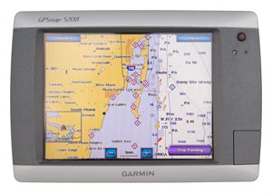 garmin 5208 touch screen display