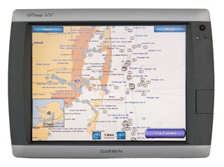 garmin 5212 touch screen display