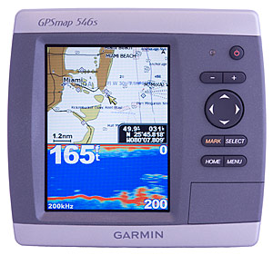 garmin 546s combo unit