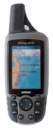 garmin 60csx handheld gps