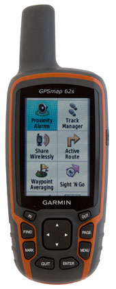 garmin 62s portable gps