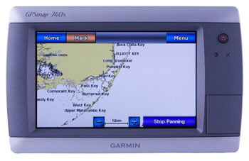 garmin 740s touchscreen combo unit