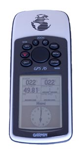 garmin gps 76 marine handheld gps