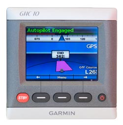 garmin ghc10 gps steering mode