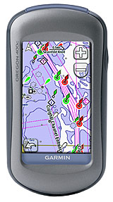Garmin Oregon 400c Our First Look And More On Marine Electronics