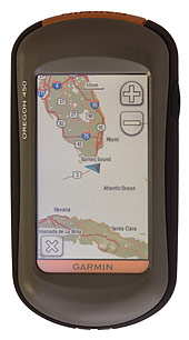 garmin oregon 450 portable gps
