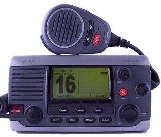 garmin vhf100 marine vhf radio