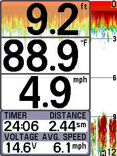 humminbird 385ci combo chart page