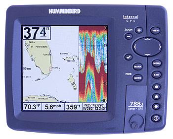 humminbird 788ci chartplotter fishfinder combo unit