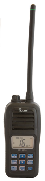 icom m24 handheld marine vhf radio
