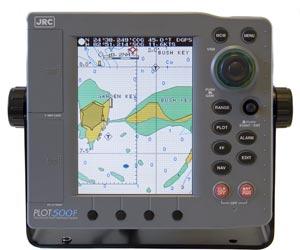 jrc plot 500 chartplotter fishfinder