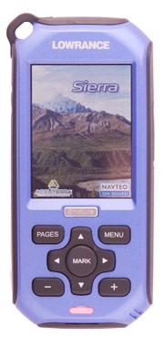 lowrance endura sierra portable gps