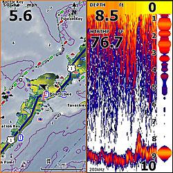 lowrance hds5 gen2 gps chartplotter fishfinder