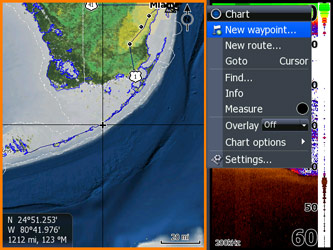 lowrance hds-7 gps chartplotter fishfinder