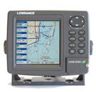 lowrance lms-525cdf chartplotter fishfinder combo