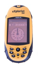 Magellan eXplorist 200 handheld marine gps