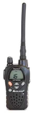 Midland Nautico handheld vhf radio