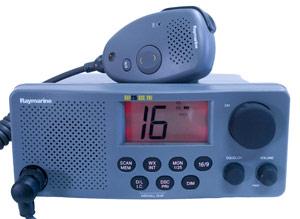 raymarine 215 marine vhf radio