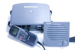raymarine 240 vhf radio