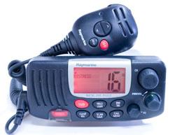 raymarine 54 vhf radio
