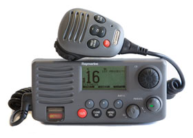 Raymarine 55 Our Independent Unbiased Marine Vhf Review And More One Marine Electronics
