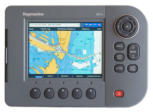 raymarine a57d chartplotter fishfinder combo