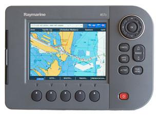 raymarine a57d chartplotter fishfinder combo