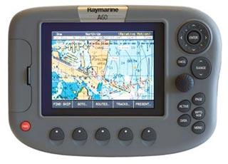 raymarine a60 chartplotter fishfinder combo