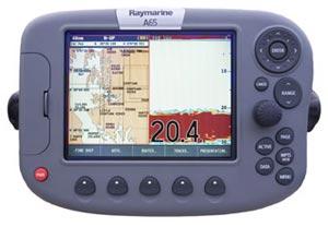 raymarine a65 chartplotter fishfinder combo