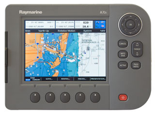 raymarine a70d chartplotter fishfinder combo