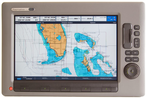 raymarine c140w multi-function display