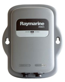 raymarine dsm25 black box sounder