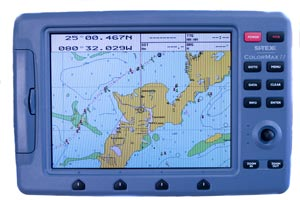 sitex colormax 11 chartplotter combo