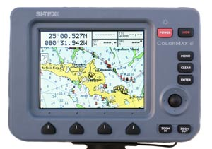 sitex colormax 6 chartplotter combo