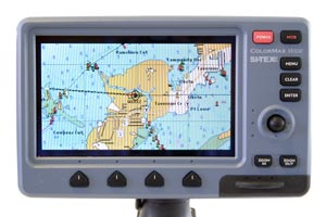 sitex colormax wide chartplotter combo