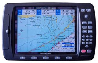 standard horizon cp1000c marine gps chartplotter