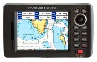 standard horizon cp180 marine chartplotter