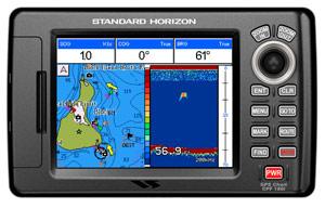 standard horizon cpf180i chartplotter fishfinder