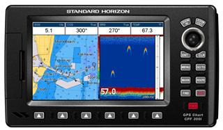 standard horizon cpf300i chartplotter fishfinder