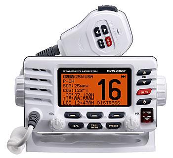 standard horizon gx1600 explorer marine vhf radio