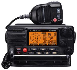 standard horizon gx2100s marine vhf radio