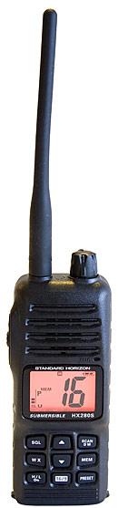 standard horizon hx280s marine handheld vhf radio
