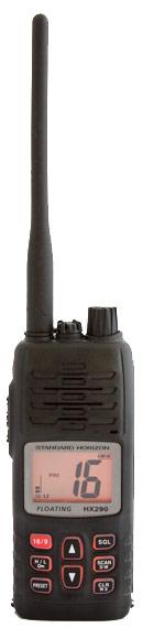 standard horizon hx290 floating handheld marine vhf radio
