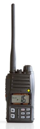 Standard Horizon HX500S handheld vhf radio