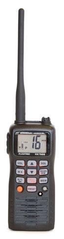 Standard Horizon HX750S handheld vhf radio