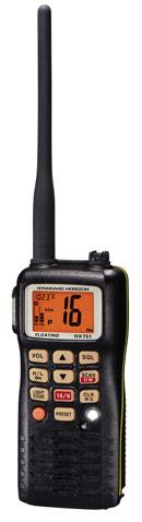 standard horizon hx751 handheld marine vhf radio